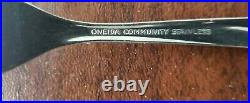100 pcs ONEIDA COMMUNITY TWIN STAR STAINLESS FLATWARE Glossy 6 pc Service for 12