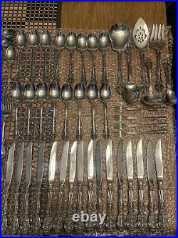 103pc Oneida MICHELANGELO Cube Stainless Flatware Set (Service for 16) EXCELLENT