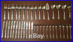 105 pc Service for 12 Oneida Community Stainless BRAHMS Flatware inc 21 Serving