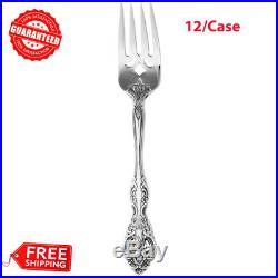 (12-Case) Oneida MICHELANGELO Stainless Steel Salad Fork Flatware Silverware
