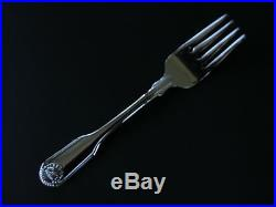 12 Genuine Oneida Classic Shell Salad/pastry Forks 18/10 S/s Free Shipping