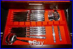 137 Pieces Service for 12+ Oneida HH Distinction Deluxe Stainless Capri Flatware