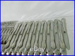 176 Piece Oneida Community Chatelaine Stainless Flatware Set Betty Crocker