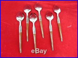 30 Pcs EKCO La Joya Stainless Flatware Forks, Spoons, Knives