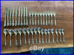35 Piece Set Oneida Community Stainless Flatware Brahms Pattern