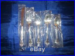 40pc Rodgers Oneida LOUISIANA Stainless Flatware Service for Eight (New)