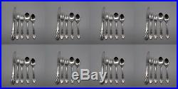 40pc SET Oneida Stainless DOVER (GLOSSY) Service for Eight CUBE