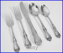 (42 Pc) ONEIDA BRIARWOOD All American Stainless Flatware Set Service for 8