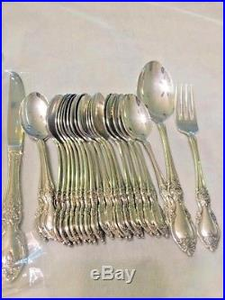 42 pc Oneida Community Stainless LOUISIANA flatware set