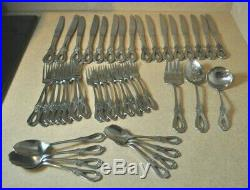 43 Pcs Oneida Cube Stainless Flatware TOUJOURS