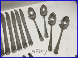 45 X Oneida Balmoral Canteen Cutlery Stainless Vintage Set Knives Forks Spoons