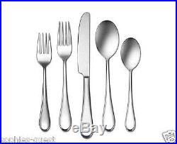 45 pcs Oneida ICARUS Gourmet Flatware Silverware Stainless Service 8 + Hostess