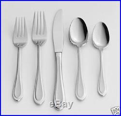 45 pcs Oneida JOANN Gourmet Flatware Set 18/0 STAINLESS Service 8 + HOSTESS