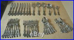 46 Oneida CUBE Stainless Steel Flatware Svc for 8 Plus Serving MICHELANGELO