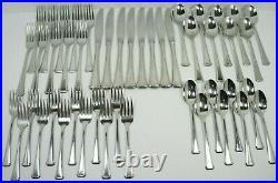 47 Pce. Oneida USA MAESTRO ST LEGER ABERDEEN Stainless Steel Service For 8+