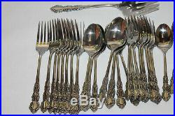 47 Pcs Service For 8 Oneida Cube SHELLEY Stainless Steel Flatware