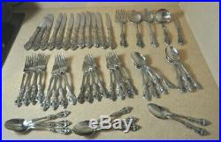 49 Oneida CUBE Stainless Steel Flatware-Svc for 8 Plus Serving MICHELANGELO
