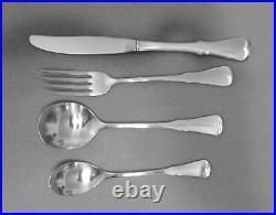 49-pieces Of Oneida Community Patrick Henry Pat Stainless Flatware
