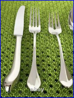5 Pc Place Setting Oneida CAPELLO Stainless Flatware Glossy New