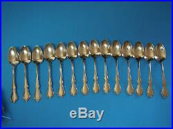 50 Piece Oneidacraft Deluxe Stainless Chateau Pattern Flatware Set Dinner Oneida