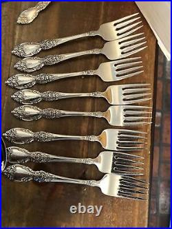 (52Pc) ONEIDA WORDSWORTH Stainless Flatware Service for 8 -1 + 5 Serving pieces