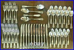 53pc Oneida Deluxe Pfaltzgraff VILLAGE Stainless Flatware Set Forks Spoon Knives