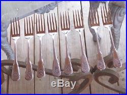 55 Pc Oneida Pfaltzgraff Village Flatware Silverware Stainless-fork Spoon-serve
