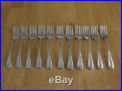 57 Pc ONEIDA USA VNTG Stainless SAND DUNE Glossy, 18-8, Wide Center Indent VG
