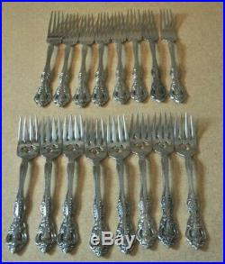 58 Oneida CUBE Stainless Steel Flatware svc for 8 Plus Serving MICHELANGELO