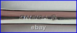 59pc Set of Oneida GOLDEN JUILLIARD Stainless Flatware Svc/8+Serving Pieces
