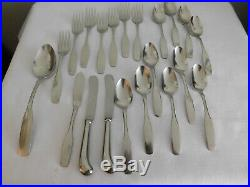 60 piece LOT of Oneida Community Stainless Paul Revere Set withServing