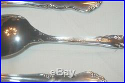 61 Piece Set Oneida Stainless Flatware Dover Service for 12 Excellent