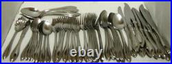 61 pcs Oneida ARBOR- AMERICAN HARMONY Stainless Steel Flatware EXCELLENT