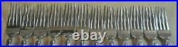 65 Oneida Heirloom Cube Stainless Steel Set Svc 12 MICHELANGELO LOWER $$$