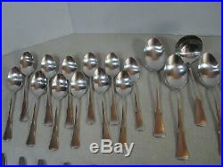 66 PC SERVICE FOR 12 Oneida Community PATRICK HENRY Stainless Flatware EXC. #A