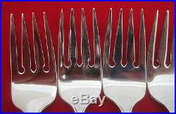 66 Pieces Oneida Community SATINIQUE Stainless Flatware Service for 12 + Serving