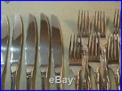 68 PC(SERVICE FOR 12) Oneida Community BRAHMS Stainless Flatware EXC
