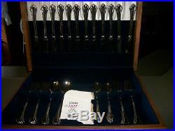 68 Pcs. Oneida USA Bancroft Stainless Flatware Set/12 Place Settings & Serving
