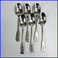69 Piece Vintage Oneida Pfaltzgraff VILLAGE Stainless Silverware / Flatware Set