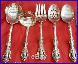 71 Pc Oneida Heirloom Cube Mark Michelangelo Stainless Flatware 8 Pl Sets + More