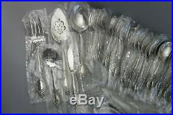 71pc Oneida Community Plantation Stainless for 12 New Old Stock USA