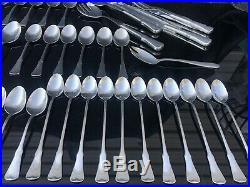 74 PC SERVICE FOR 6 Oneida Community PATRICK HENRY Stainless Flatware EXC. #A