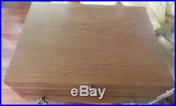 75 Piece Settings + Extrasoneida Golden Juilliardsilverware With Storage Box