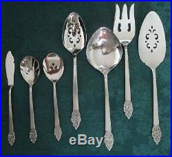 75 pcs Service/10+ ONEIDA Stainless Silverware/Flatware VINLAND PATTERN withCHEST