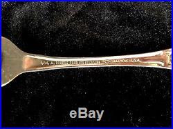 8 Sets 40 Piece Vintage Oneida President Stainless Flatware Heavy Quality USA