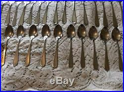 80 PC SERVICE FOR 16 Oneida USA FLIGHT RELIANCE Stainless Flatware