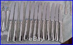 80 Pc Oneida(12 settings) JUILLIARD Heirloom 18/10 Stainless Flatware (lot#298)
