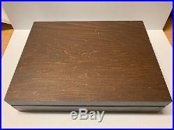 82 Pcs Oneida Stainless Flatware Set With Storage Box NEW