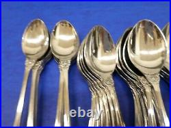 87 pieces Oneida Northland BATON ROUGE Stainless Japan Flatware Lot