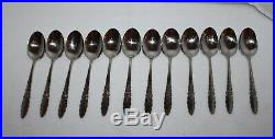 89 Pieces Oneida Community Stainless Floral Glen 12 Place Settings + Extra